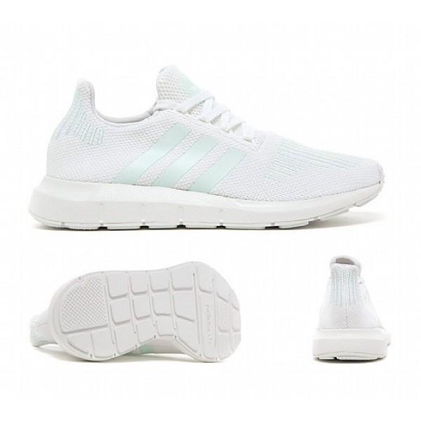Stilvoll Adidas Swift Run Damen Weiß Laufschuhe O...