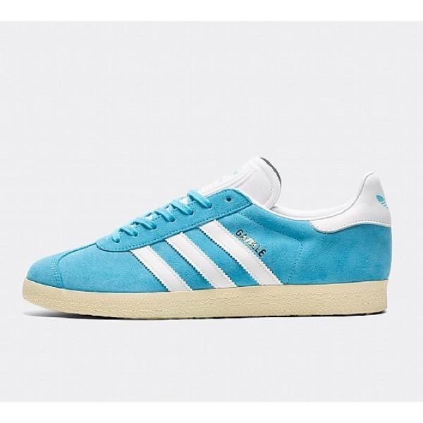 Stilvoll Adidas Gazelle Herren Blau Turnschuhe Aus...