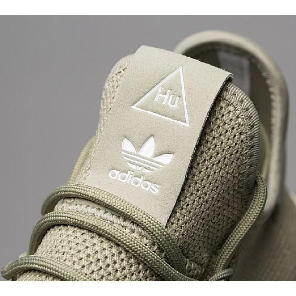 Stilvoll Adidas Pharrell Williams Hu Herren Grün Tennisschuhe Online Bestellen