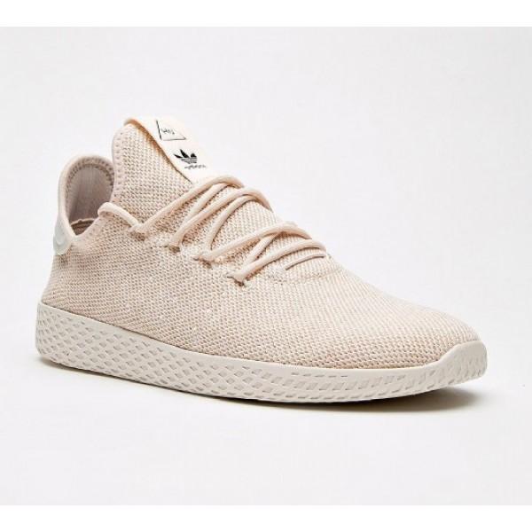 Neue Adidas Pharrell Williams Hu Herren Rosa Tennisschuhe Online
