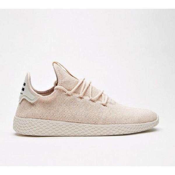 Neue Adidas Pharrell Williams Hu Herren Rosa Tenni...