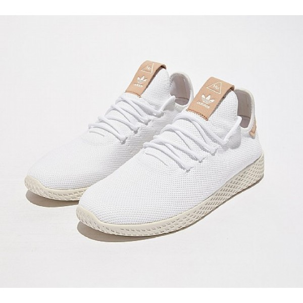 Neue Adidas Pharrell Williams Hu Herren Weiß Tennisschuhe Online