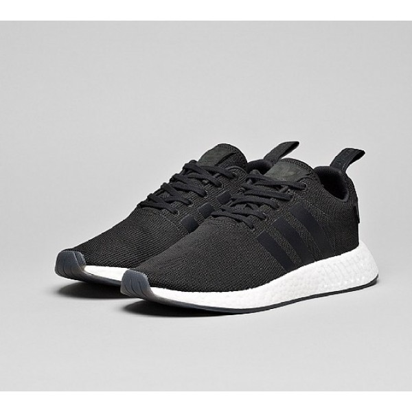 Neue Adidas NMD R2 Herren Schwarz Sportschuhe Verkauf