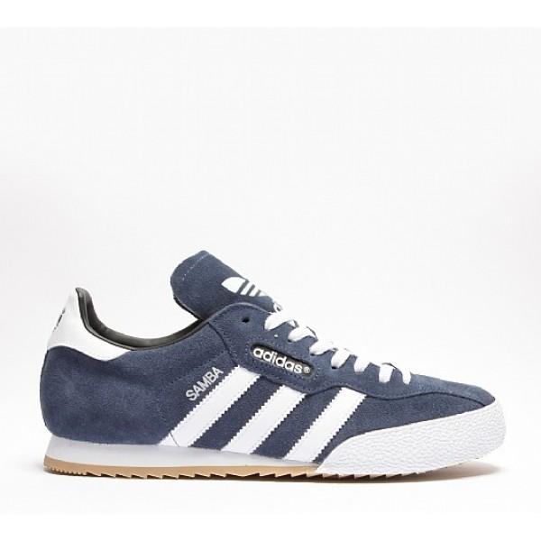 Neue Adidas Samba Herren Navy Turnschuhe Outlet