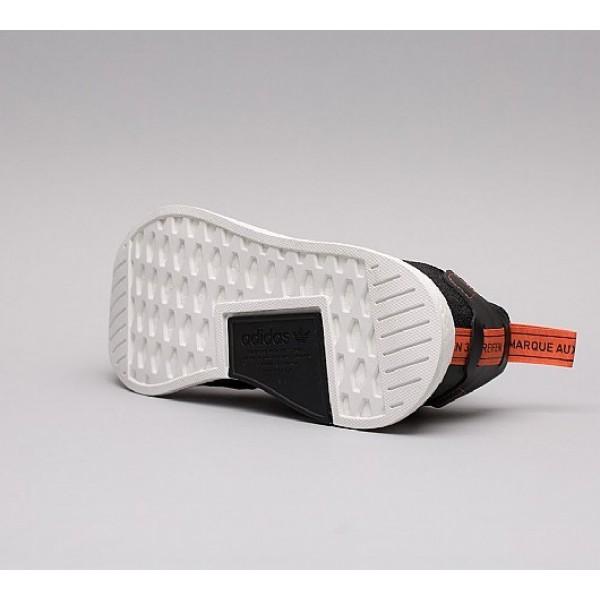 Neue Adidas NMD R2 Herren Schwarz Laufschuhe Outlet