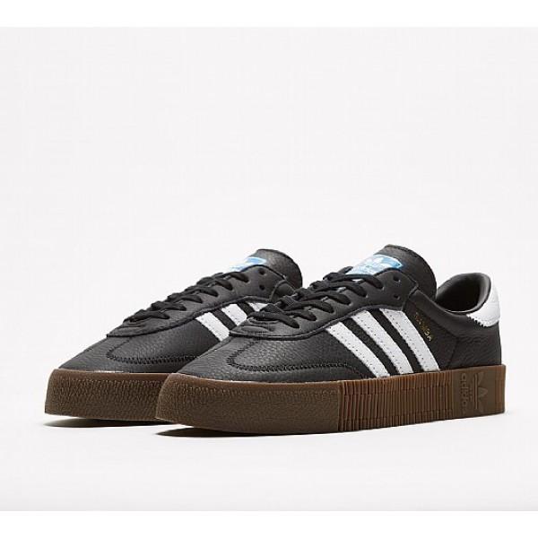 Neue Adidas Samba Rose Damen Schwarz Turnschuhe Outlet