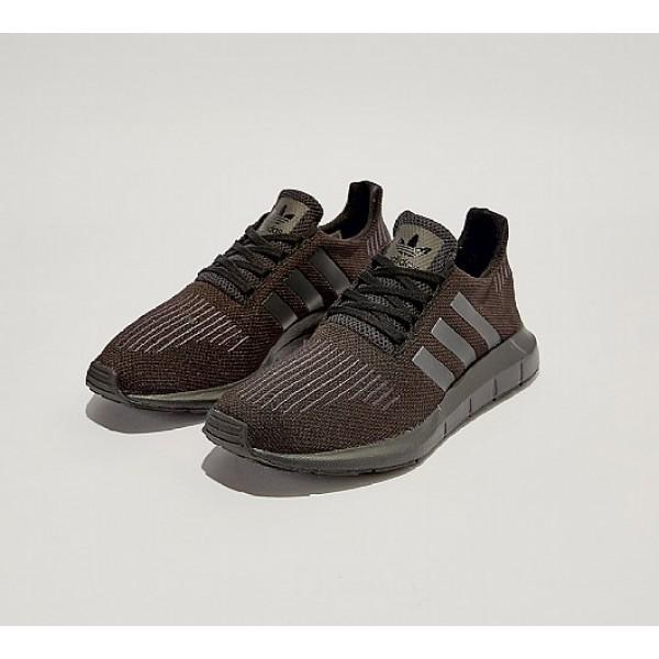 Neue Adidas Swift Run Herren Schwarz Laufschuhe Online