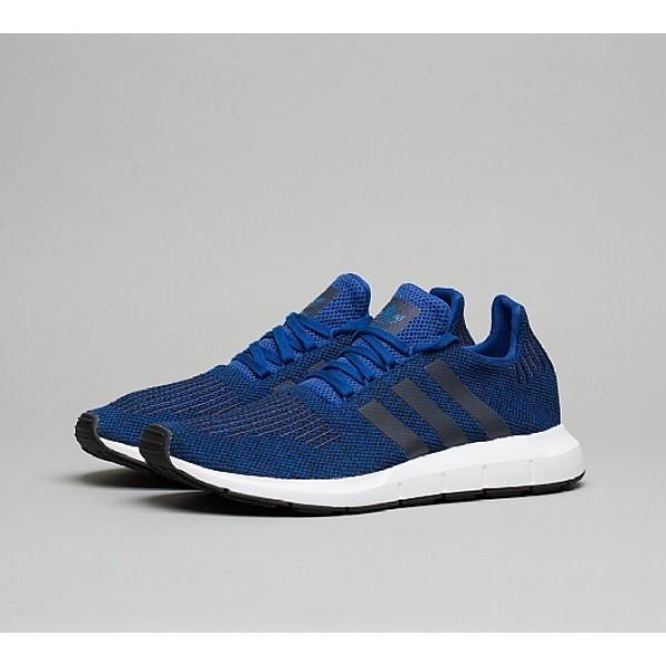 Neue Adidas Swift Run Herren Blau Laufschuhe Auf Verkauf