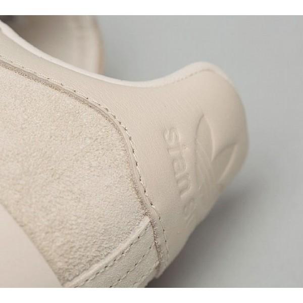 Neue Adidas Stan Smith Bold Damen Khaki Tennisschuhe Outlet