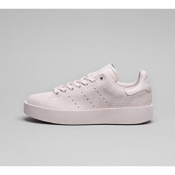 Neue Adidas Stan Smith Bold Damen Rosa Tennisschuh...