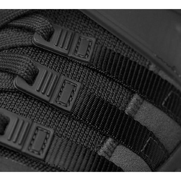 Neu Adidas EQT Support ADV Herren Schwarz Laufschuhe Auf Verkauf