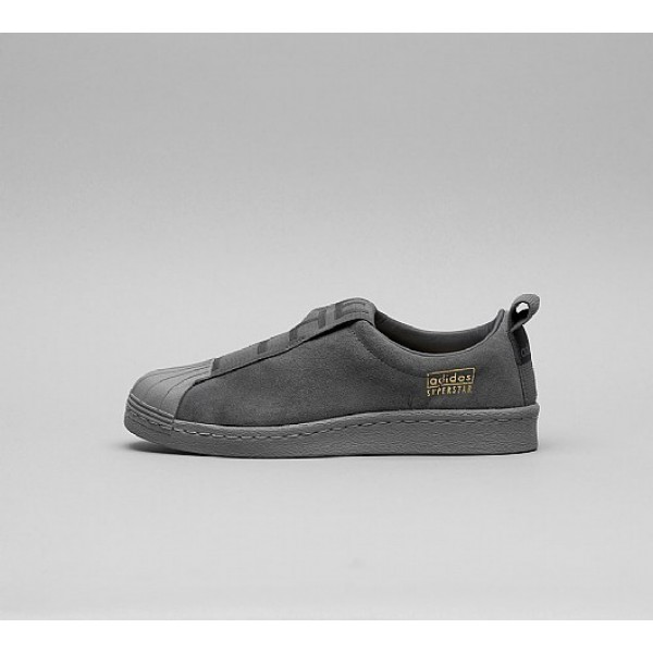 Neu Adidas Superstar BW Slip On Damen Grau Walkingschuhe Auf Verkauf