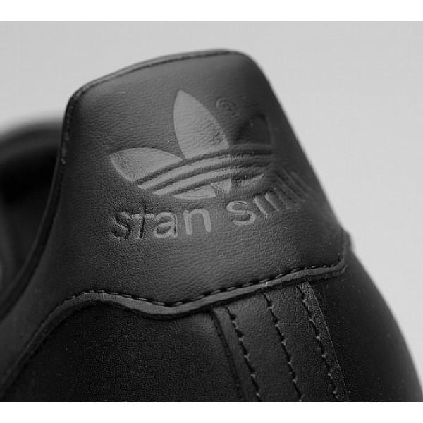 Neu Adidas Stan Smith Herren Schwarz Tennisschuhe Auf Verkauf