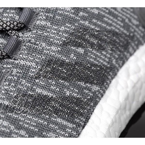 Neu Adidas PureBoost Herren Grau Laufschuhe Online