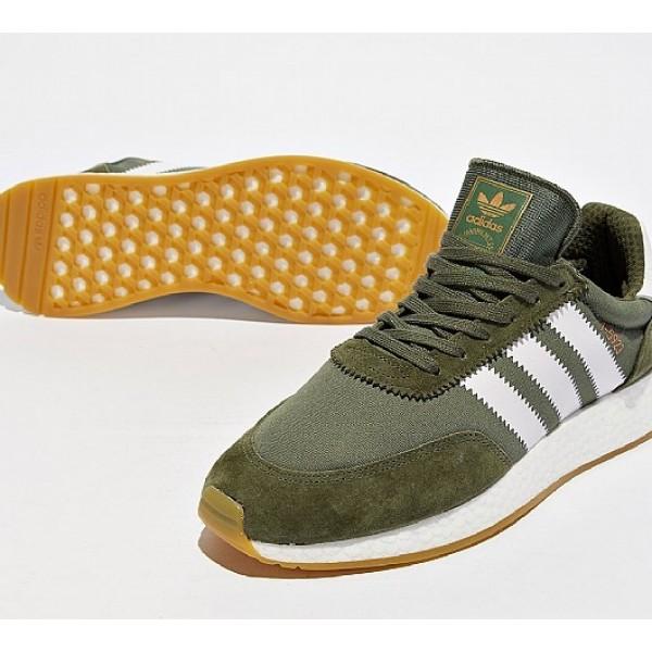 Neu Adidas I-5923 Boost Runner Herren Grün Laufschuhe Verkauf