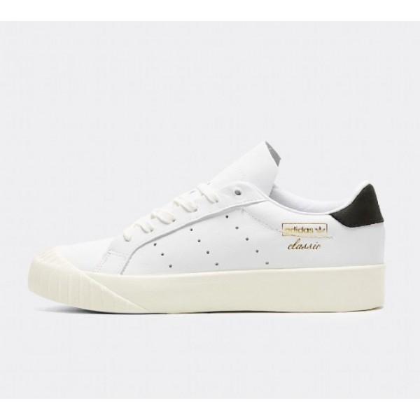 Stilvoll Adidas Everyn Damen Weiß Tennisschuhe Ou...