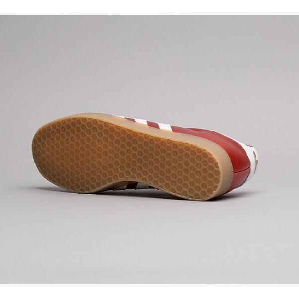 Stilvoll Adidas Gazelle Herren Rot Turnschuhe Online
