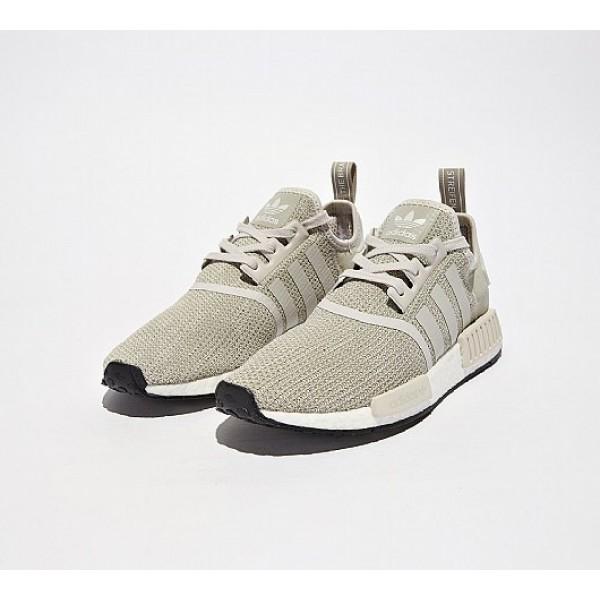 Stilvoll Adidas NMD R1 Herren Khaki Laufschuhe Online