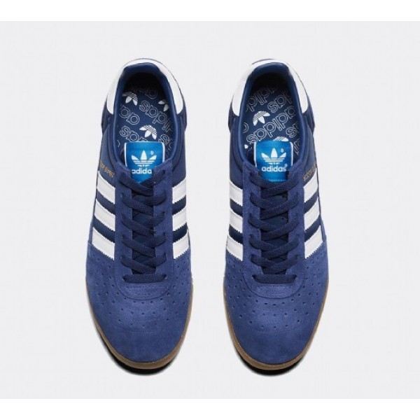 Stilvoll Adidas Indoor Super Herren Navy Turnschuhe Online