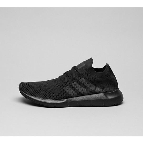Neu Adidas Swift Run Primeknit Herren Schwarz Laufschuhe Auf Verkauf