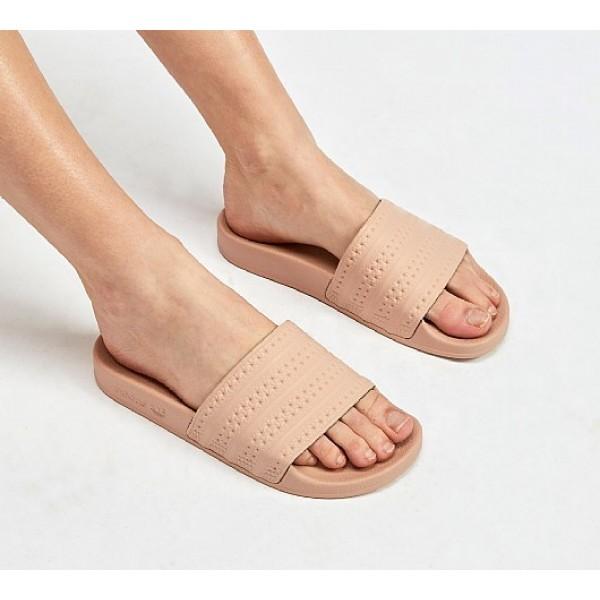 Neue Adidas Adilette Damen Khaki Sandalen Auf Verk...