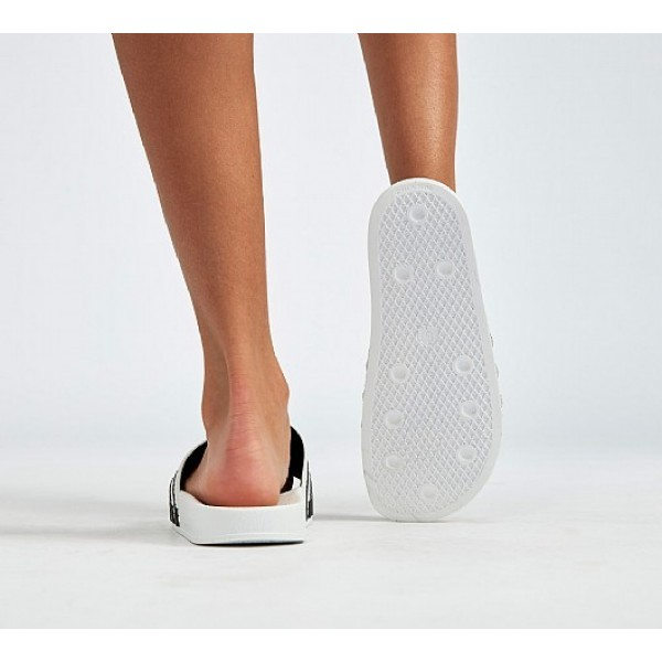 Neue Adidas Adilette Damen Weiß Sandalen Auslauf