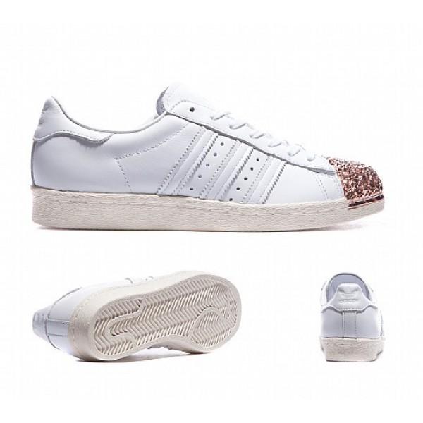 Neue Adidas 80's 3D Metal Shell Toe Damen Weiß Tu...