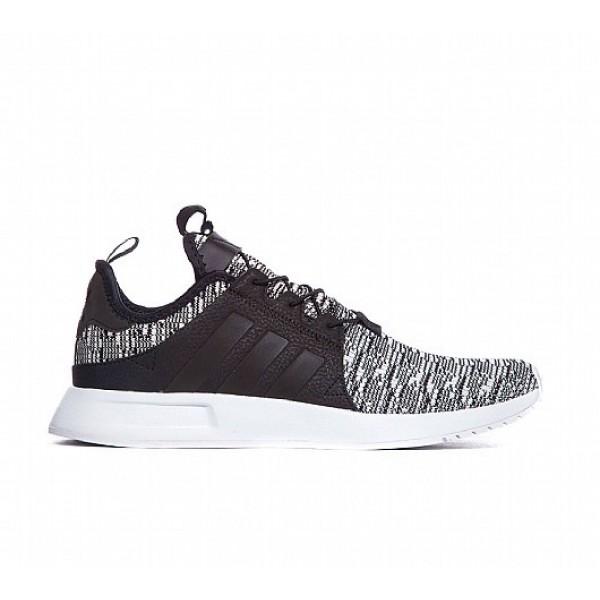 Neu Adidas X PLR Knit Herren Schwarz Laufschuhe Verkauf