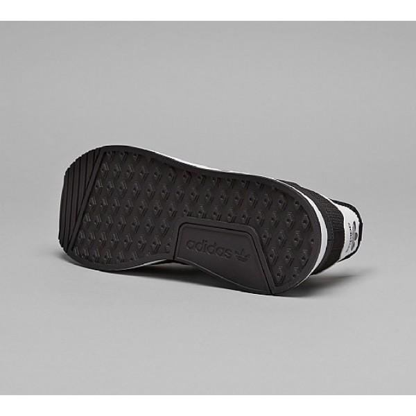 Neu Adidas X PLR Herren Schwarz Laufschuhe Verkauf