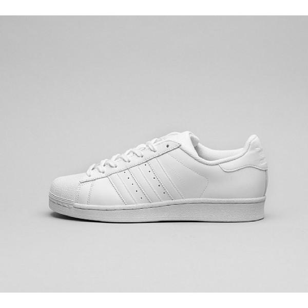 Neu Adidas Superstar Foundation Herren Weiß Turns...