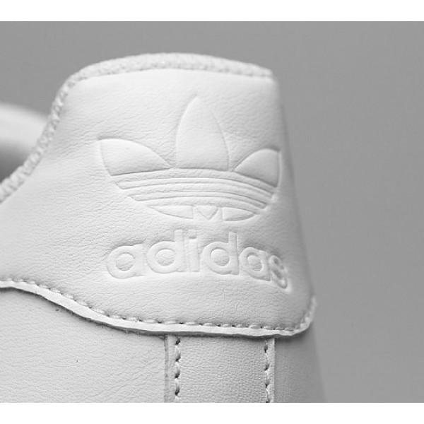 Neu Adidas Superstar Foundation Herren Weiß Turnschuhe Auslauf