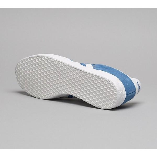 Neue Adidas Gazelle Super Essential Herren Blau Turnschuhe Auf Verkauf
