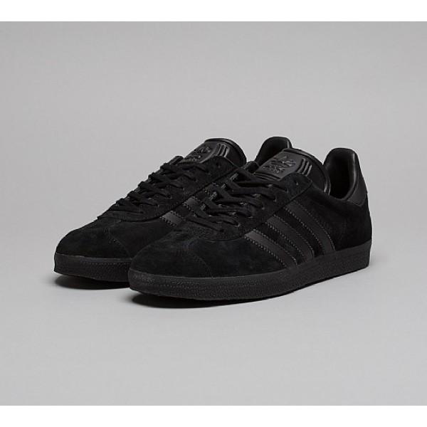 Neue Adidas Gazelle Herren Schwarz Turnschuhe Outlet