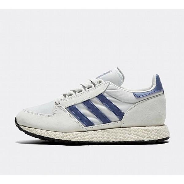 Neue Adidas Forest Grove Damen Beige Laufschuhe Au...