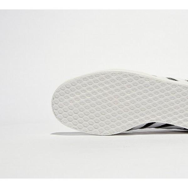 Neue Adidas Gazelle Super Essential Herren Schwarz Turnschuhe Verkauf