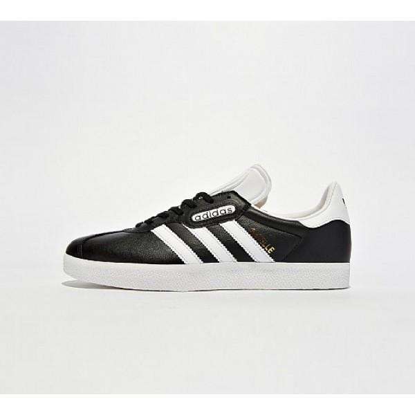 Neue Adidas Gazelle Super Essential Herren Schwarz...