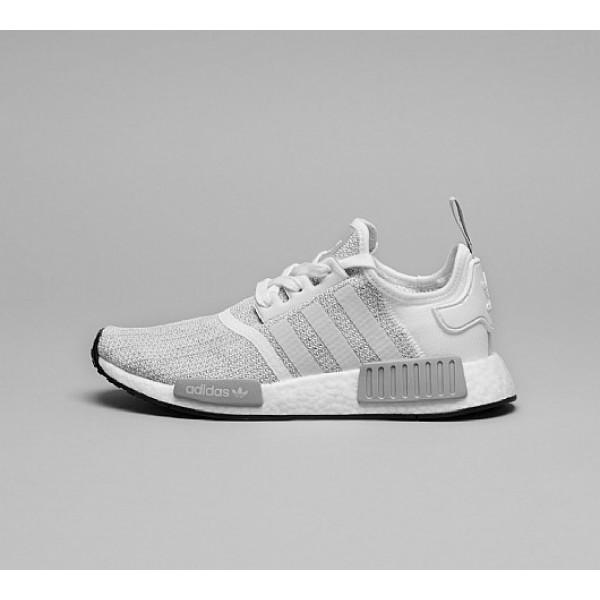 Neue Adidas NMD R1 Damen Grau Laufschuhe Online