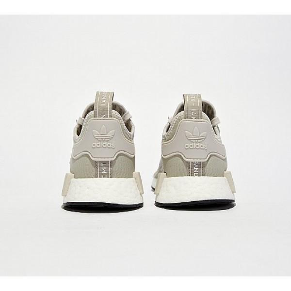 Neue Adidas NMD R1 Damen Khaki Laufschuhe Outlet