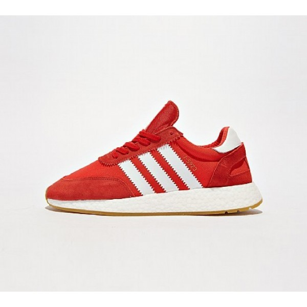 Neue Adidas I-5923 Boost Runner Herren Rot Laufsch...
