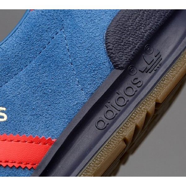 Neue Adidas Jeans Herren Blau Turnschuhe Outlet