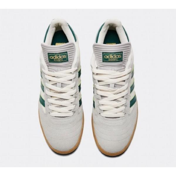 Neue Adidas Busenitz Herren Weiß Skate Schuhe Online Bestellen