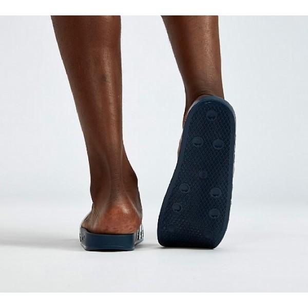 Neue Adidas Adilettes Herren Weiß Sandalen Auslauf
