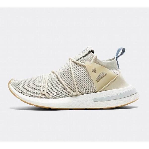 Neue Adidas Arkyn Primeknit Damen Weiß Laufschuhe Online