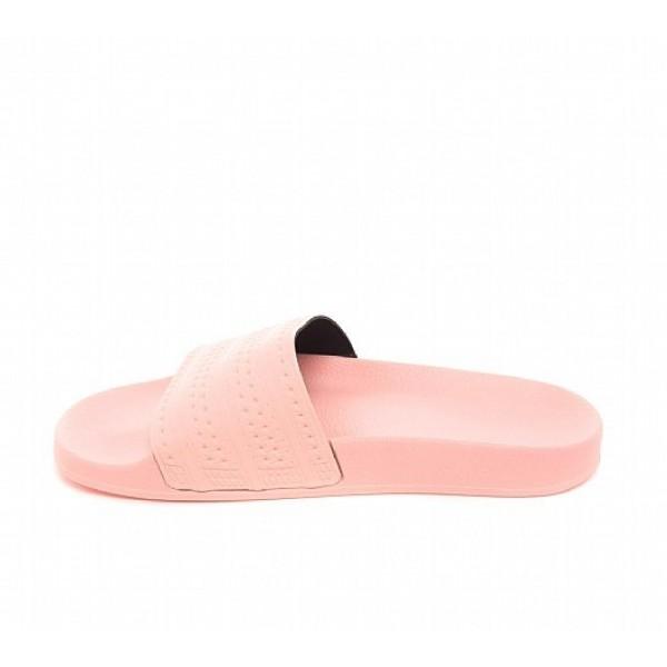 Neue Adidas Adilette Pastel Herren Rosa Sandalen Auf Verkauf