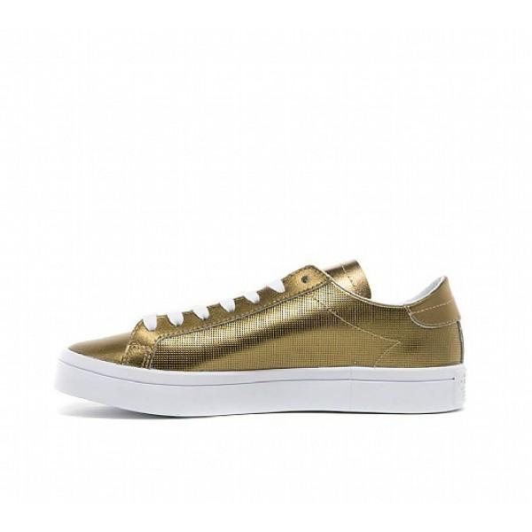 Neue Adidas Court Vantage Damen Gold Tennisschuhe Online