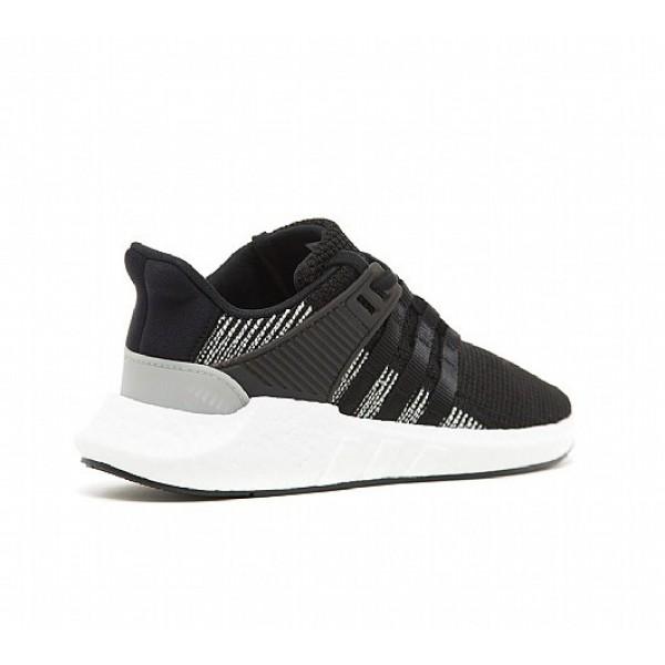 Neue Adidas EQT Support 93/17 Herren Schwarz Laufschuhe Online